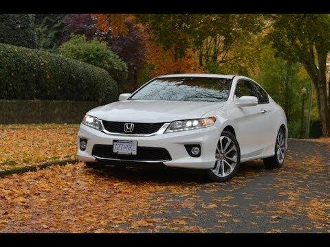 2014 Honda Accord Coupe V6 Automatic Review