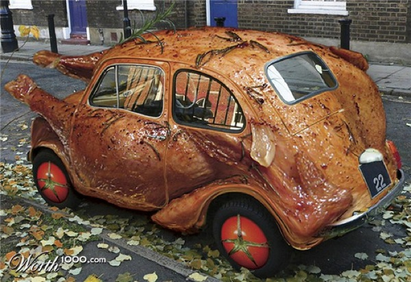 turkey-car