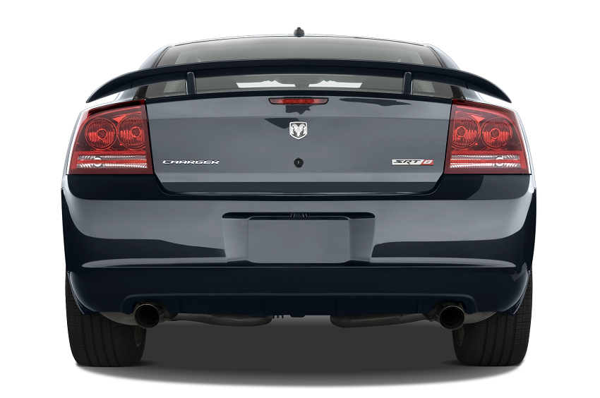 2010-dodge-charger-srt8-sedan-rear-view