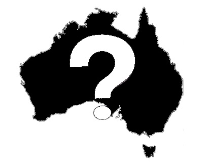 Australia Question Mark