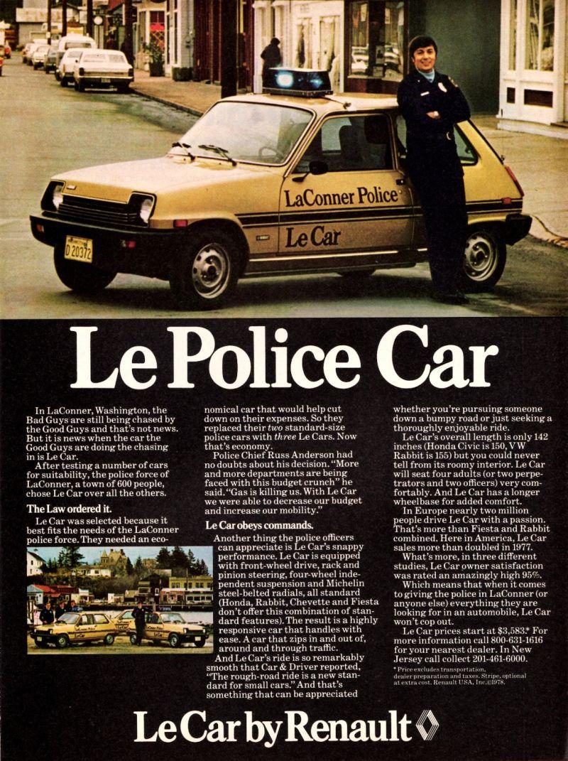Le Police Car