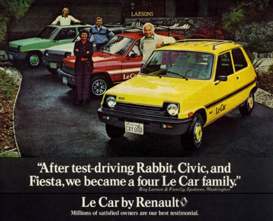 history hits renault amc lecar the speed trap