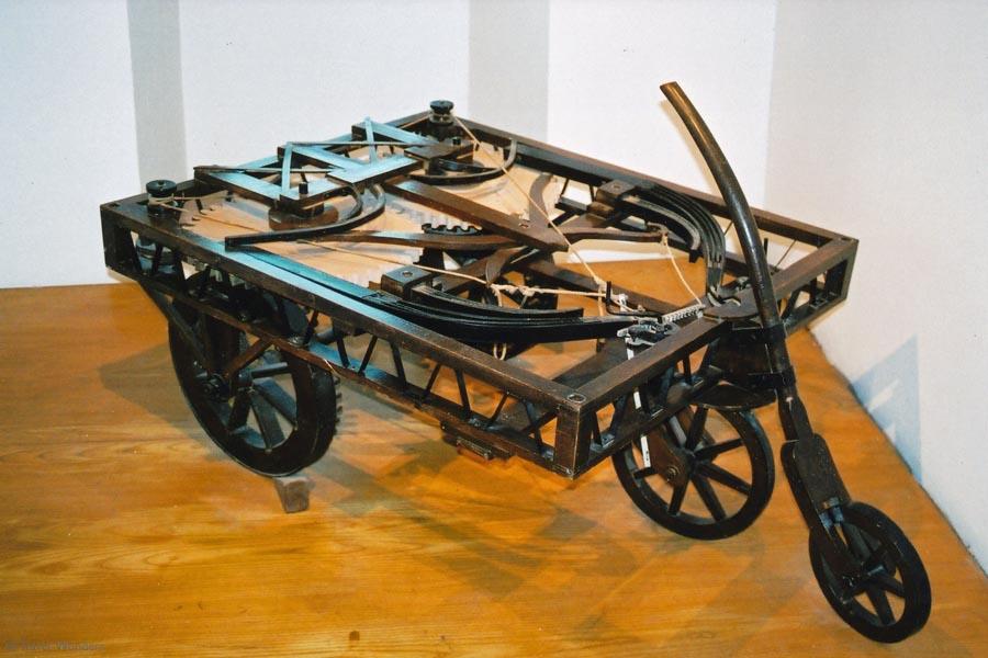Da Vinci's car