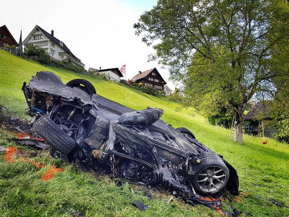 Crashed Rimac