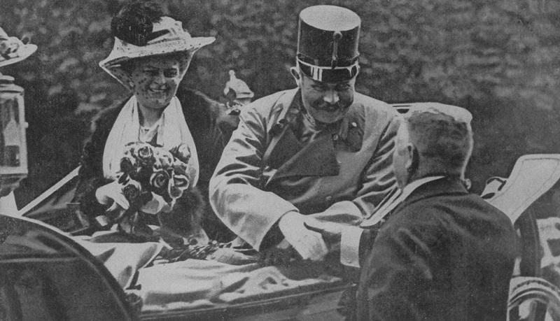 Franz Ferdinand [& Wife] [RF: Habsburg RF]