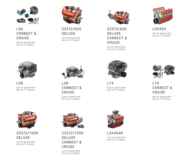 what crate engines can you buy from the manufacturer