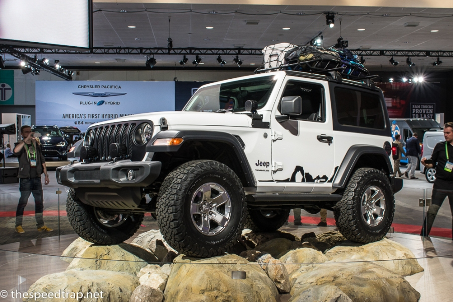 The new JL Jeep certainly qualifies as a truck, due to all the truck things it can do. That, and an actual pickup version is due to be released soon.