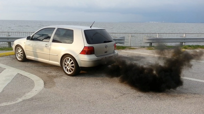 VW Roll Coal